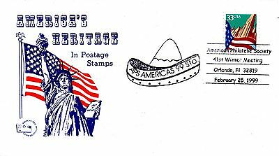 US FDC #3277 Flag Unofficial, AFDCS (3827)