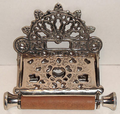 Antique Victorian Style Toilet Paper Holder