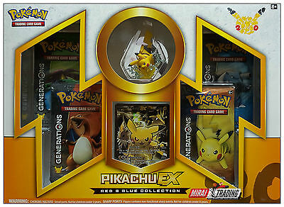 Pokémon TCG: Generations Red & Blue Collection – Pikachu-EX Box