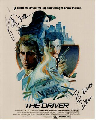 RYAN O'NEAL & BRUCE DERN signed autographed THE DRIVER photo