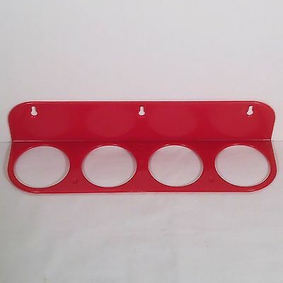 Highly Desired Red Tupperware Spice Rack from 1955 in Excellent Used Condition