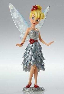 Couture de Force Disney Christmas Tinker Bell in Silver Dress Figurine 4053350