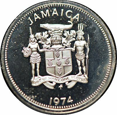 Jamaica, 1974 10 Cents, Proof                                               3gmr