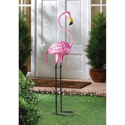 Artsy Pink Flamingo Metal Over 35 Inches High