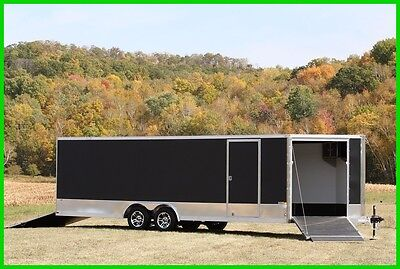 2017 ALUMINUM UTILITY ENCLOSED CARGO TRAILER CARHAULER New