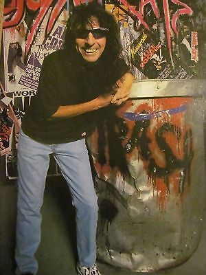 Alice Cooper, Full Page Vintage Pinup