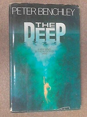 The Deep by Benchley, Peter Hardback Book The Cheap Fast Free Post