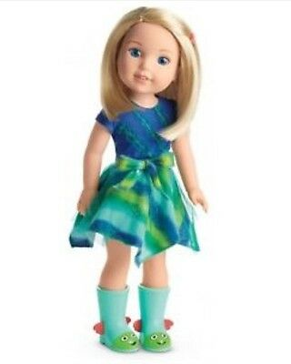 """American Girl Wellie Wishers 14.5"""" doll Camille WellieWisher NEW IN BOX"""