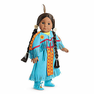 "American Girl KAYA POW WOW DRESS OF TODAY Dress for 18"" Dolls Native Indian NEW"