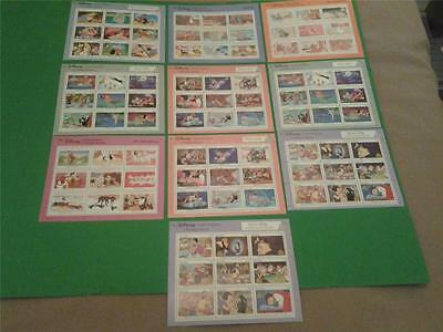 DISNEY STAMP LOT MNH Collection Grenada