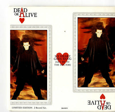 """Dead Or Alive 7"""" vinyl single record My Heart Goes Bang - Double Pack UK"""