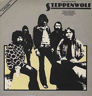 """Four Tracks From Steppenwolf Steppenwolf 12"""" vinyl single record (Maxi) UK"""