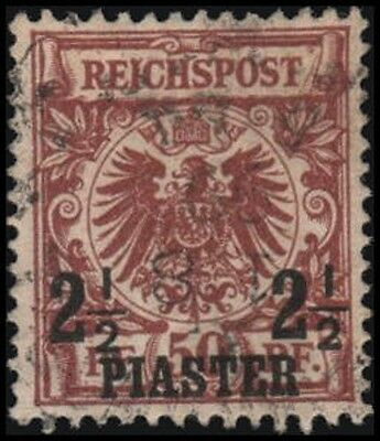 Great Britain-Offices in Turkey #12 Used VF