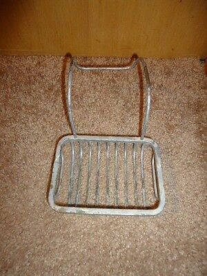 Vintage Antique Metal Wire Soap Dish Holder Basket for Clawfoot Bath Tub