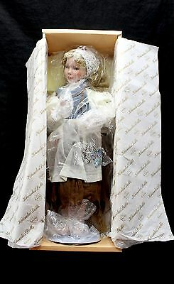 """KNOWLES DOLLS Heroines From The Fairy Tale Forests Cinderella 15"""" Doll"""