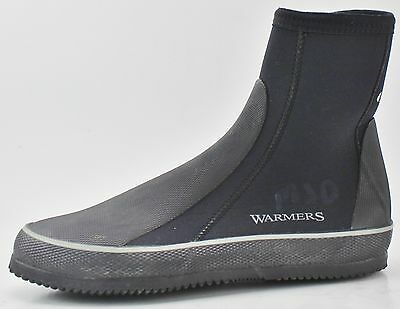 WARMERS Black Dive Boots Size 9