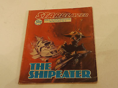 Starblazer Picture Library,no 05,1979 Issue,good For Age,very Rare Sci-Fi Comic.
