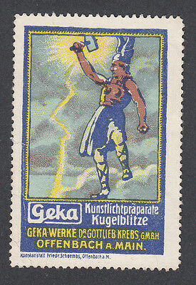 Germany Poster Stamp  THE VIKING THOR