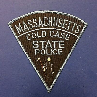 Massachusetts State Police Cold Case Patch