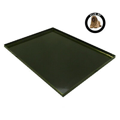 "Black Metal Non Chew Tray for Large 36"" Dog Puppy Pet Cage"