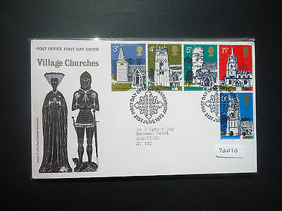 Great Britain 1972 Year Set First Day Covers All Bureau Or Better (74010)