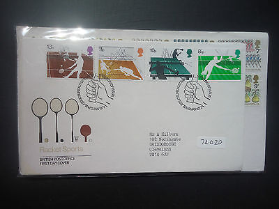 Great Britain 1977 Year Set First Day Covers All Bureau Or Better (74020)