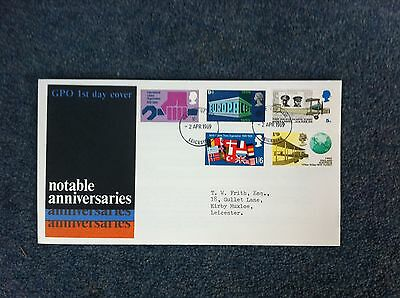 First Day Cover - Notable Anniversaries 1969