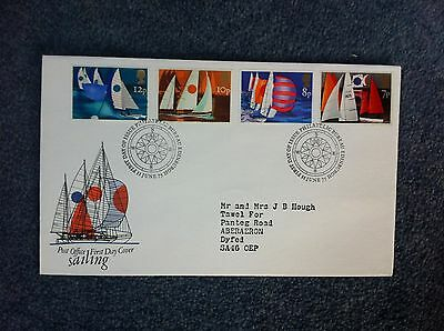 First Day Cover - Sailing 1975
