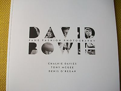 DAVID BOWIE RARE Heddon London Gallery Exhibition catalog book of photography
