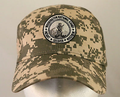 Washington National Guard Digital Camouflage Patriot Soldier Hat