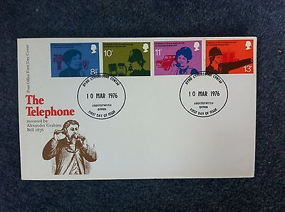 First Day Cover - The Telephone 1976