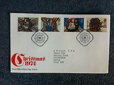Christmas 1974 First Day Cover