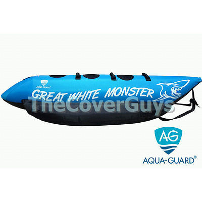 Ski Tube Biscuit AquaGuard Great White Monster 3 Seater