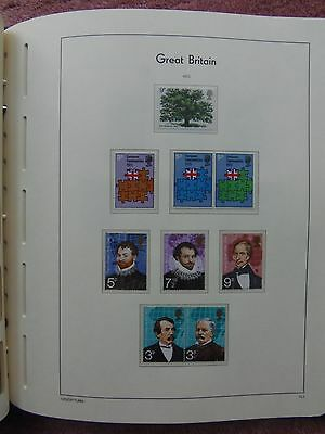 LIGHTHOUSE Illustrated Album 3 Pages Great Britain Commemorative 1973 Leaves