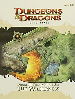 Dungeon Tiles Master Set - The Wilderness Unbekannt Wizards of the Coast Toy