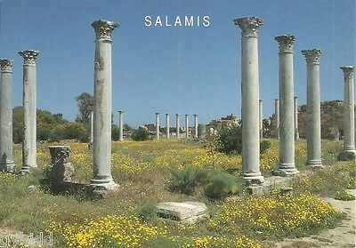 Columned Courtyard Of The Gymnasium, Salamis, North Cyprus.