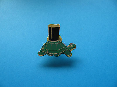 Guinness Pint On Tortoise Pin badge. Unused. Enamel.