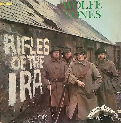 The Wolfe Tones Rifles Of The I.r.a Dolphin Irish Press Lp Record Vinyl 1969