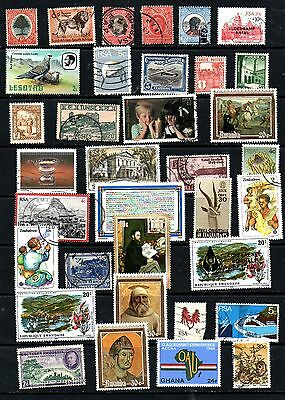 2 LOT OF STAMPS ON A STOCK CARDS FROM AFRICAN COUNTRIES 1910s START.