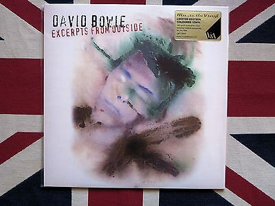 DAVID BOWIE - Outside Green Vinyl V&A RARE LIMITED EDITION  SEALED