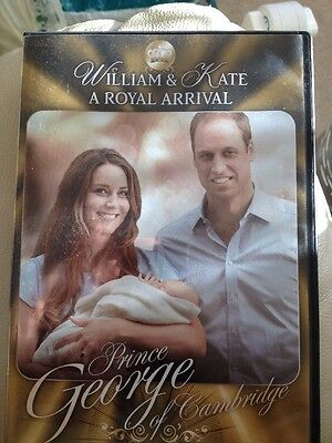 Prince William & Kate Dvd. A Royal Arrival