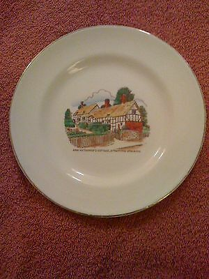 Ann Hathaway's Cottage Victoria Pottery Plate Rare.
