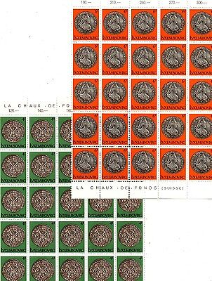 3 Lots Of Stamps From Luxembourg 1981.,