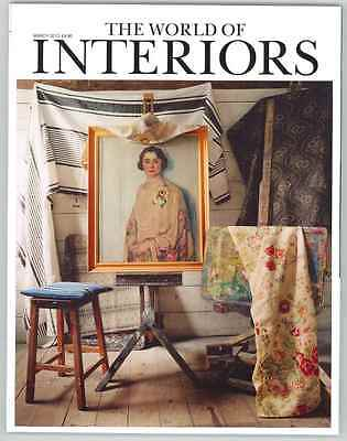 World Of Interiors Magazine March 2013 Limited Edition Collectors Cover New