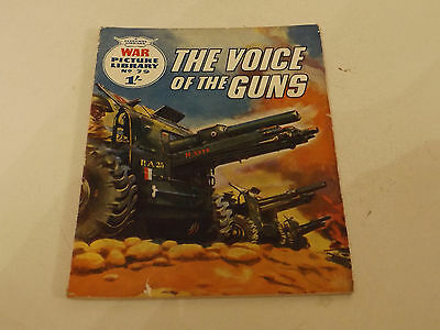 WAR PICTURE LIBRARY NO 79!,dated 1960!,GOOD for age,great 56!YEAR OLD issue,RARE
