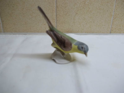 Yellow Wagtail porcelain ornament- by W.Goebel. Germany