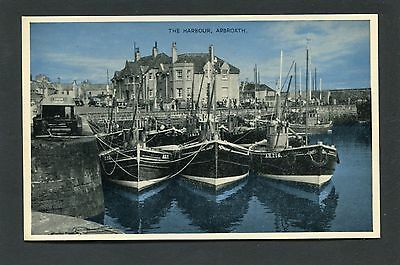 Arbroath Angus - The Harbour & Fishing Boats c1960