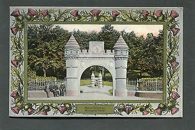 Broughty Ferry Dundee - The Gateway Reres Park p/u 1909