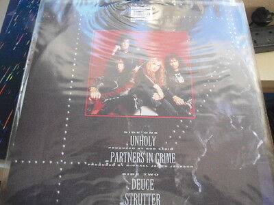 Kiss  - Unholy   Limited Edition White Vinyl  1992