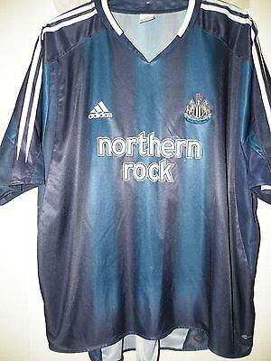 "Adidas Vintage Newcastle Utd away 2004-05 size on tag uk 3Xl  approx 54 ""chest"